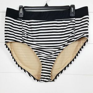 Swim by Cacique lane bryant Striped Plus Size 20